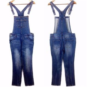 Mossimo Denim Overalls Sz M Womans